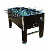 Capetan® Kick 400 extra erős asztalifoci asztal felnőtt csocsóasztal, wenge (mély barna tónus) színben, gumi tapadókorongos tappancsokkal