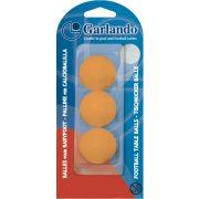 Garlando Standard 3db narancs csocsó labda csomagolásban