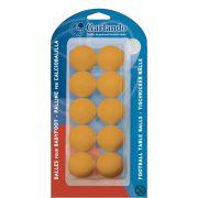 Garlando 10db Standard narancs színű csocsó labda csomagolásban