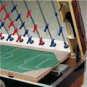 Garlando De Luxe érmevizsgálós asztalifoci asztal teleszkópos rudazattal