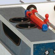 Garlando Deluxe Outdoor kültéri asztalifoci asztal telescopos rudazattal